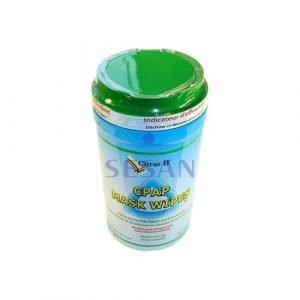 CPAP ve BPAP Cihazı Maskesi Temizleme Mendili Citrus 2 (7)