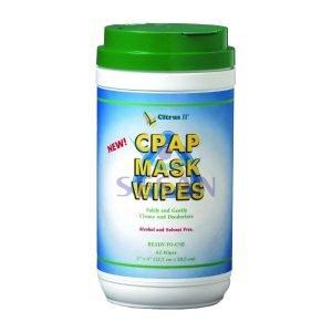 CPAP ve BPAP Cihazı Maskesi Temizleme Mendili Citrus 2 (8)