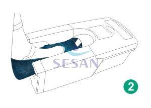 Galoş Giydirme Otomatı Mekanik OTO 702 (2)