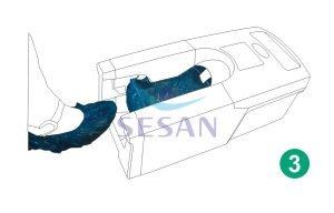 Galoş Giydirme Otomatı Mekanik OTO 702 (3)