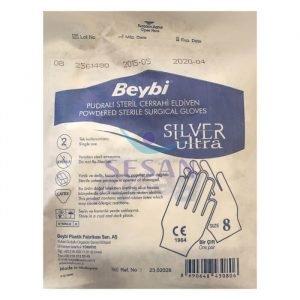 Steril Cerrahi Eldiven Beybi Silver Ultra (1)