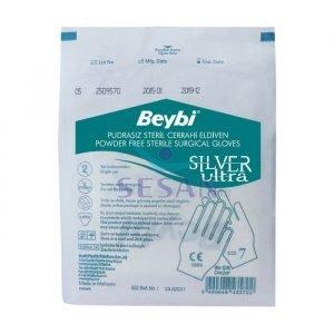Steril Cerrahi Eldiven Beybi Silver Ultra (7)