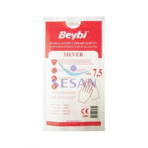 Steril Cerrahi Eldiven Beybi Silver Ultra (8)