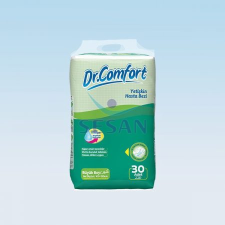 Hasta Altı Bezi Dr.Comfort Jumbo Large 30lu