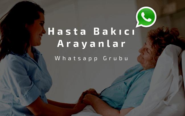 Hasta Bakıcı Arayanlar Whatsapp Grubu Kuruldu