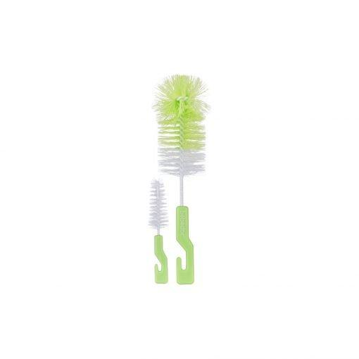 Biberon ve Emzik Temizleme Fırçası Bebedor 576 Yeşil