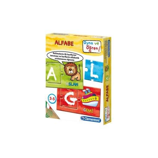 Eğitici Alfabe Oyna-Öğren Clementoni 64239
