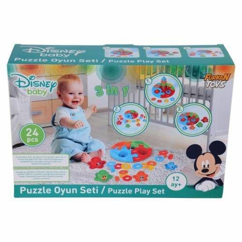 Eğitici Puzzle Oyun Seti Furkan Toys Disney Baby FR-M 00038