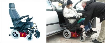 Engelli Araç Koltuğu Sistemi Autoadapt Carony Go