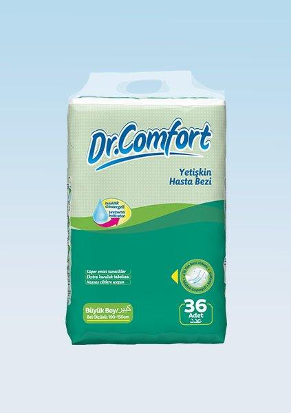 Bağlamalı Hasta Bezi Dr.Comfort Mega Large 36lı