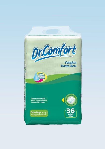 Bağlamalı Hasta Bezi Dr.Comfort Mega Medium 36lı