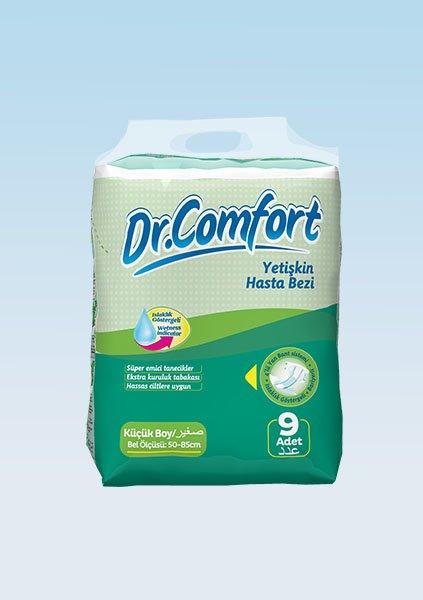 Bağlamalı Hasta Bezi Dr.Comfort Standart Small 9lu