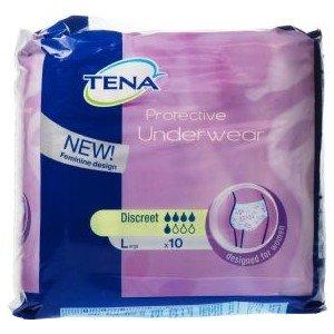Külotlu Hasta Bezi Tena Women Protective Underwear Discreet Large 10lu