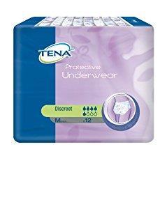 Külotlu Hasta Bezi Tena Women Protective Underwear Discreet Medium 12li