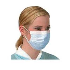 Lastikli (Cerrahi) Maske AKO-MED Beyaz 3 Katlı 50li