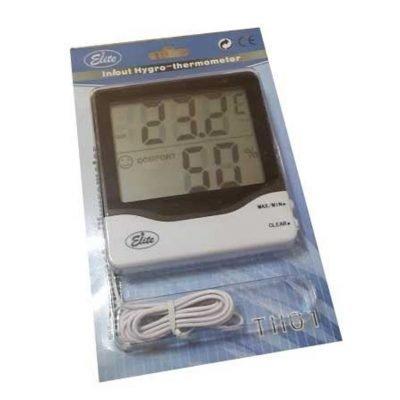 Nem-Sıcaklık Ölçer (Termo-Higrometre) Elite TH01