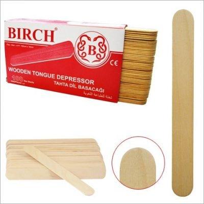 Tahta Dil Basacağı (Abeslang) Birch 100lü