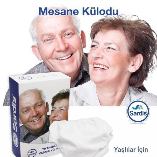 Yıkanabilir PVC Hasta Külodu Sardis Large 60-75kg