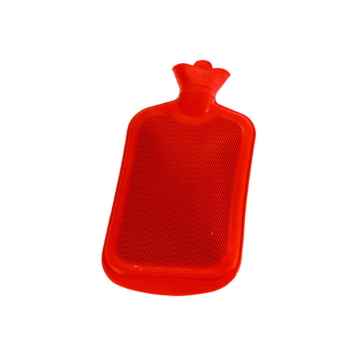 2000ml Kauçuk Sıcak Su Torbası Haiti KC-0001 Kırmızı