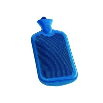 2000ml Kauçuk Sıcak Su Torbası Haiti KC-0001 Mavi