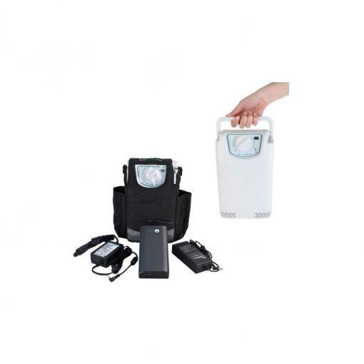 3kg Taşınabilir Oksijen Konsantratörü Precision EasyPulse POC 5 PM4150