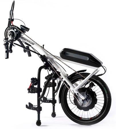 Tekerlekli Sandalye El Bisikleti Quickie Attitude Hybrid