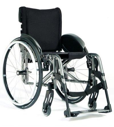 Aktif Adaptif Tekerlekli Sandalye Quickie Easy Max Swing Away