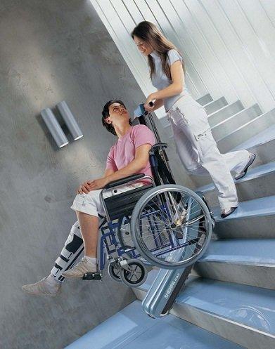 Merdiven İnme-Çıkma Cihazı KSP Sherpa N 902