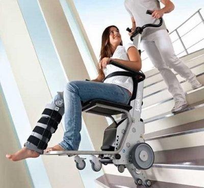 Akülü Merdiven Çıkma ve İnme Cihazı KSP Yack N 912