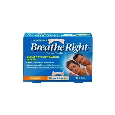 Burun Bandı Breathe Right Klasik Normal Boy