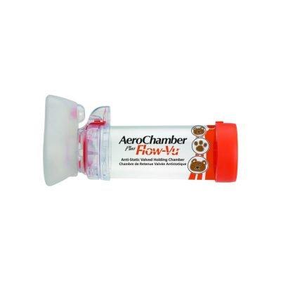 Chamber AeroChamber Plus Flow-Vu 108507 Çocuk Small