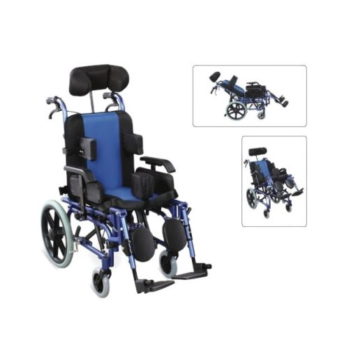 Çocuk Çok Özellikli Tekerlekli Sandalye Wollex W958