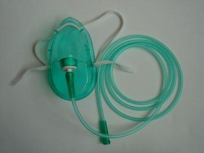 Çocuk Oksijen Maskesi Midi-Med MD 1002 Yeşil