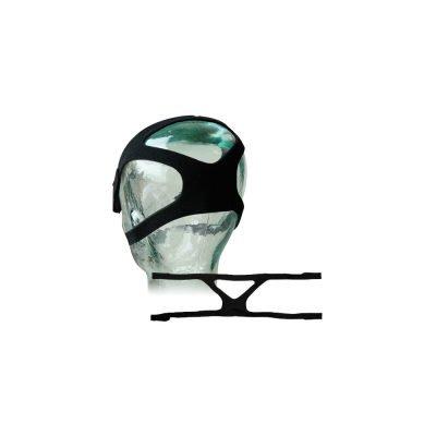 CPAP-BPAP Maskesi 4 Kollu Siyah Kafa Bandı Sesan CBMKB-001