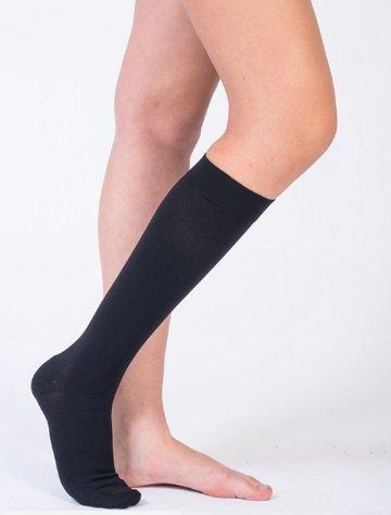 Diz Altı Varis Çorabı AD CCL1 Ortolife OL-107 No: 5 Siyah