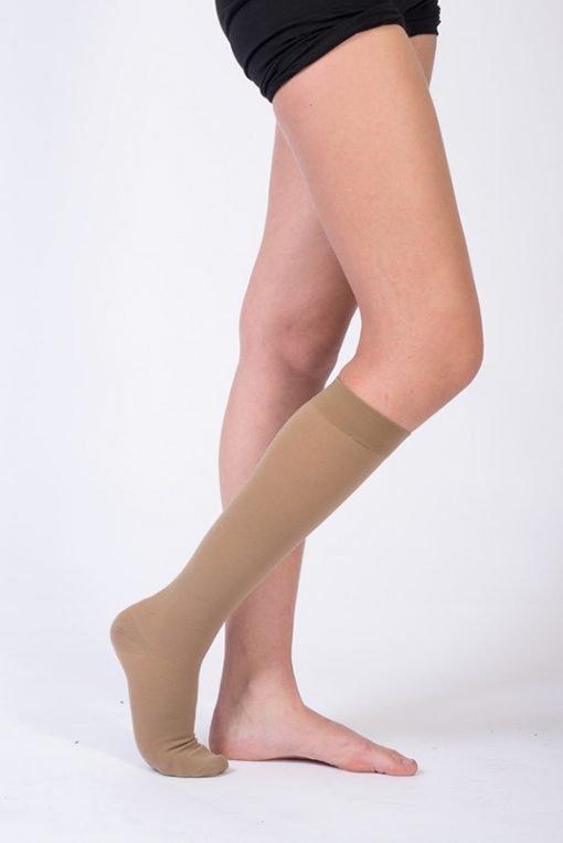 Diz Altı Varis Çorabı AD K CCL1 Venolife No: 1 Bej