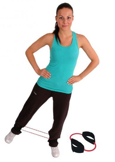 Egzersiz Lastiği Msd Cuff-Ring Tube Loop Kırmızı Orta