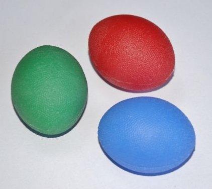 El Terapi Topu Ortho Flexi Kırmızı Sert