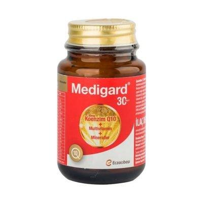 Multivitamin Gıda Takviyesi Medigard 30 Tablet