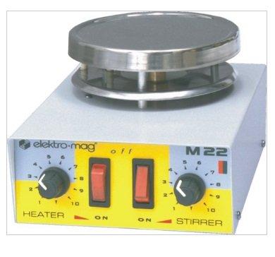 Karıştırıcı Cihazı 12cm Isıtıcılı Elektro-mag M 22