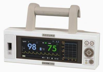 Konsol Tipi Pulse Oksimetre Cihazı Charmcare Accuro