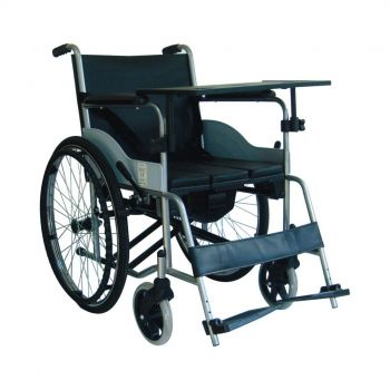 Lazımlıklı Tekerlekli Sandalye Wollex W216