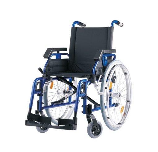 Yetişkin Manuel Tekerlekli Sandalye Bischoff Pyro Light 52cm