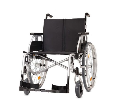 Yetişkin Manuel Tekerlekli Sandalye Bischoff Pyro Light Optima XL 52cm