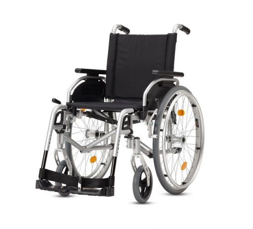Yetişkin Manuel Tekerlekli Sandalye Bischoff Pyro Start Plus 52cm