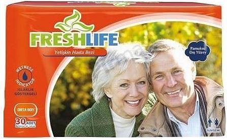 Bağlamalı Hasta Bezi Fresh Life Medium 30lu