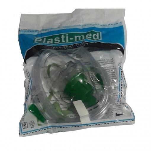 Yetişkin Nebülizatör Maske Seti Plasti-med 130106