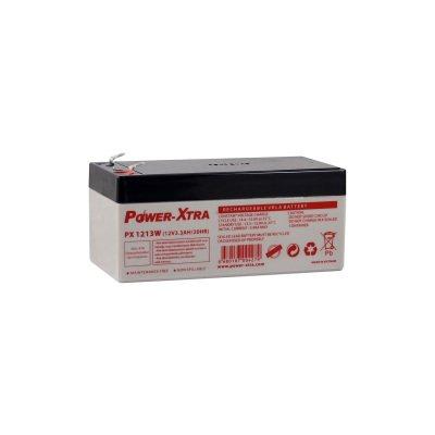 12Volt 3.3AH Batarya Power-Xtra PX1231W 12V-3.3AH/20Hr