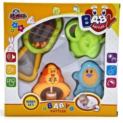 Çıngıraklı Oyun Seti Baby 4 Parça 603C