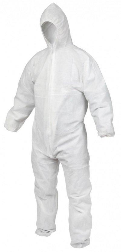 Koruyucu Tulum Brben BTLM-002 Beyaz XLarge